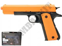 M292 Airsoft BB Gun 2 Tone Black and Orange